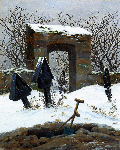 Graveyard under the Snow