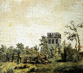Landscape with a Pavillion