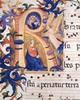 Annunciation in the Initial R