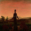 Woman Before the Rising Sun